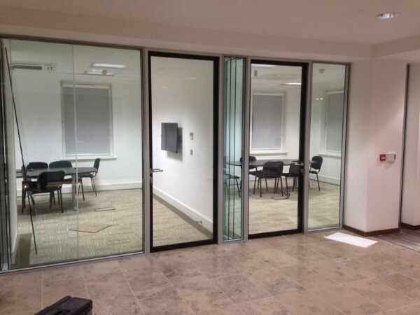 44 DB Rated Glass Partitions (and Higher)
