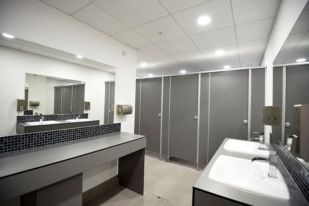 Glass Cubicle Partitions for Arrow Property Services