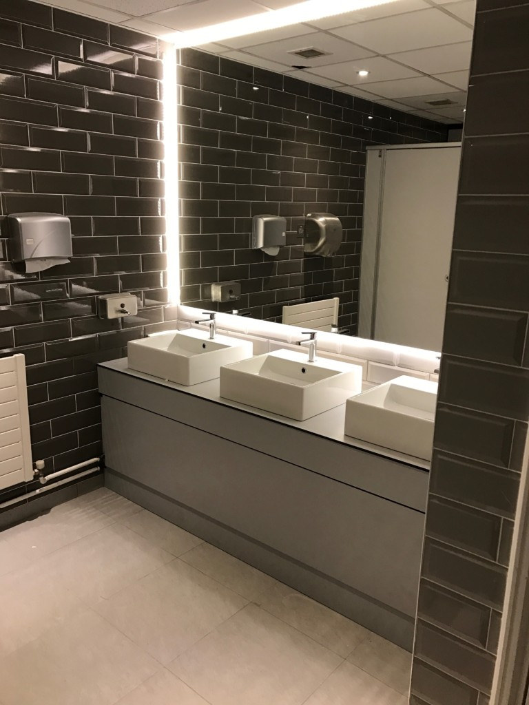 Toilet Cubicle System for Hainault House, Belgard