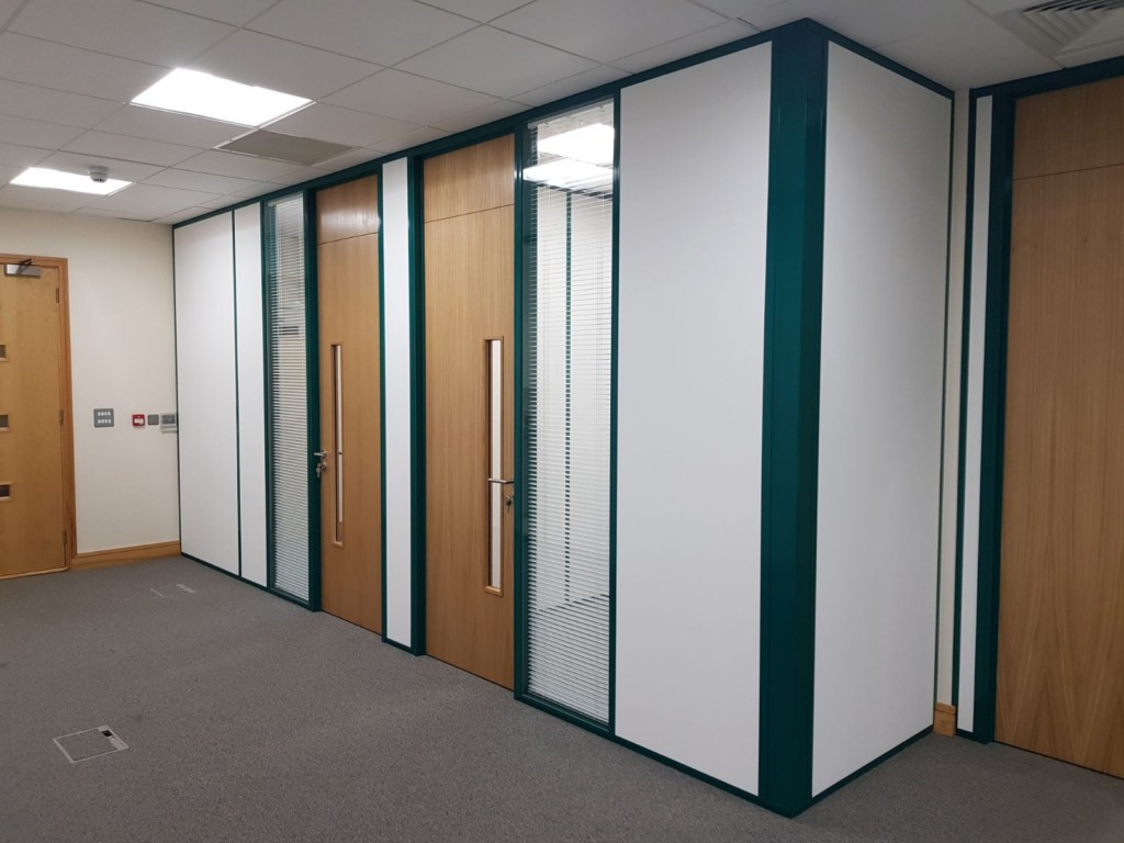 Glass Walls for Apex Fund Services Dublin