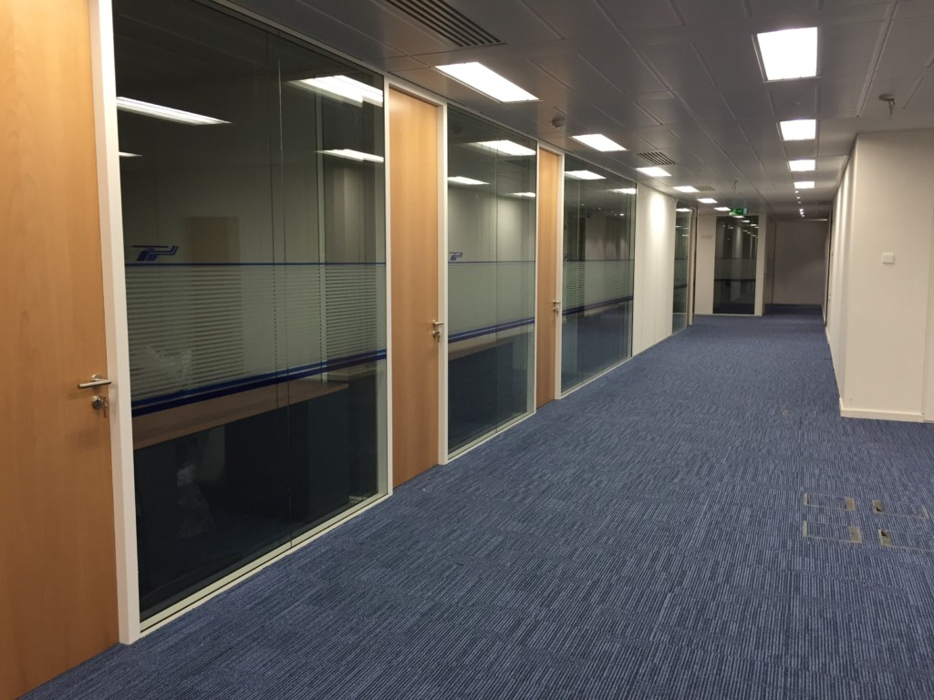 Double Glazed Partitions for CHR Hansen Cork
