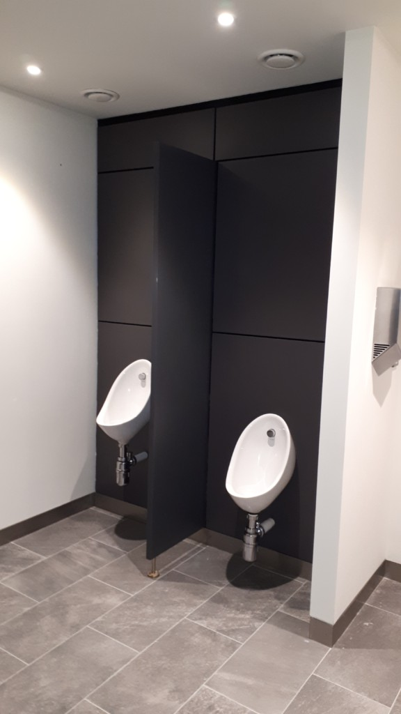 Toilet Cubicle Fixtures in Newman House Dublin